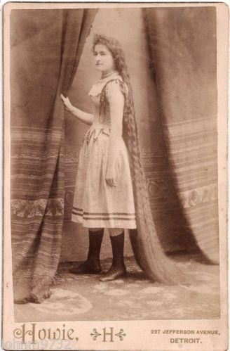 pioneer woman 1800s hair. 1800s cabinet photo 5 ft 6 long hair lillie wray albumen by howie detroit pioneer woman pinterest
