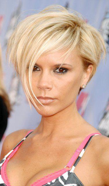 Wuschelkopf – Victoria Beckham bewies mit dieser Frisur, dass auch Kurzhaarschnitte sehr sexy sein können