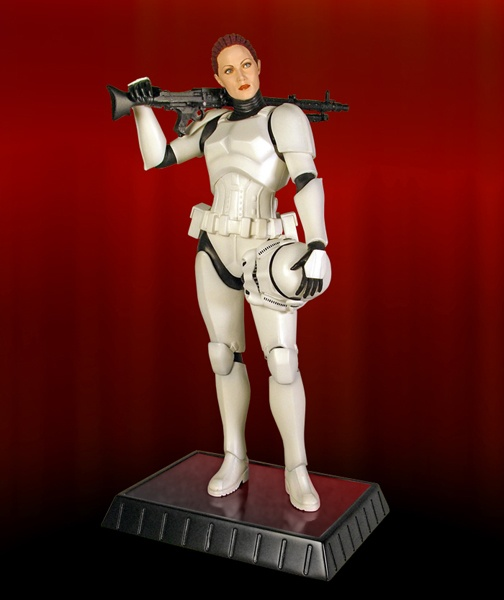 Female Stormtrooper Statue Star Wars