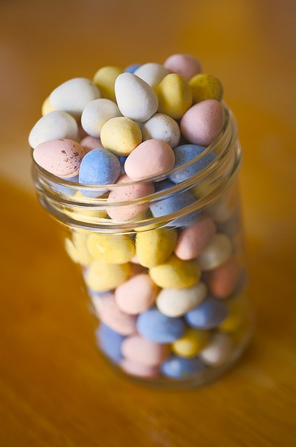 mmmm...my fav! Cadbury mini eggs. :-)