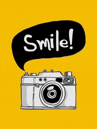 Sorria! | Crie seu quadro com essa imagem https://www.onthewall.com.br/sorria…