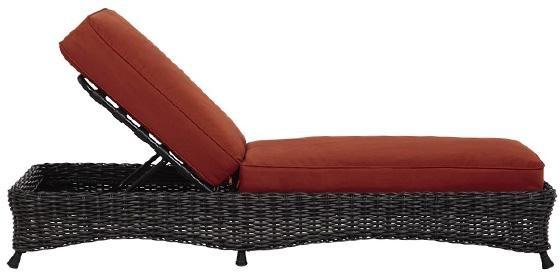 Martha Stewart Living™ Lake Adela Chaise Lounge - Chaise ... on Martha Stewart Living Chaise Lounge id=60330