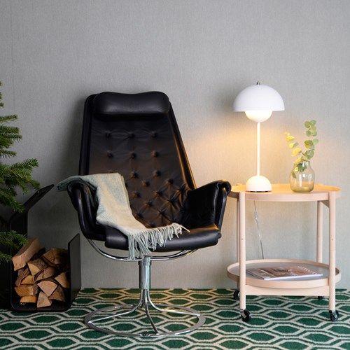 Jetson fåtölj - läder mörkgrön, limiterad upplaga - Fåtöljer – Möbler från Svenssons i Lammhult