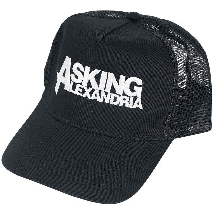 Cappellino nero degli #AskingAlexandria.