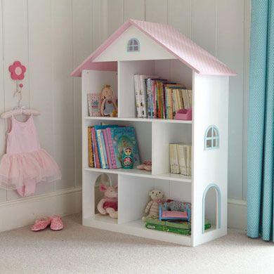 Dotty Dolls House Bookcase - Bookcases & Bookshelves - Storage - gltc.co.uk