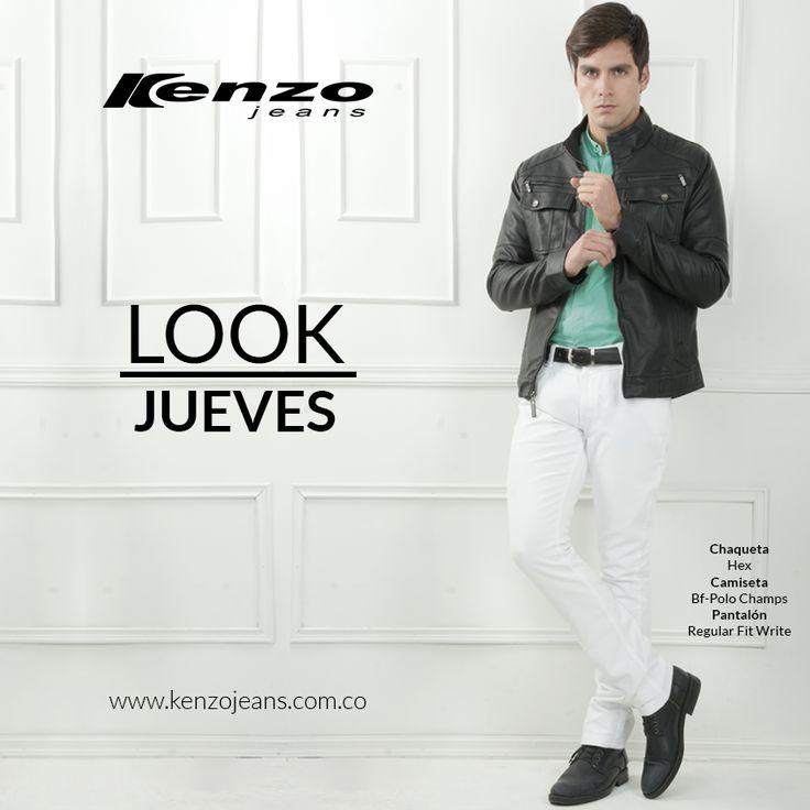 Prepara tu #look para celebrar la llegada del nuevo año, un #outfit lleno de elegancia, frescura y estilo. #KenzoJeans #AñoNuevo más en www.kenzojeans.com.co