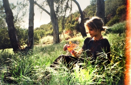 the fairies love to play with Dianna