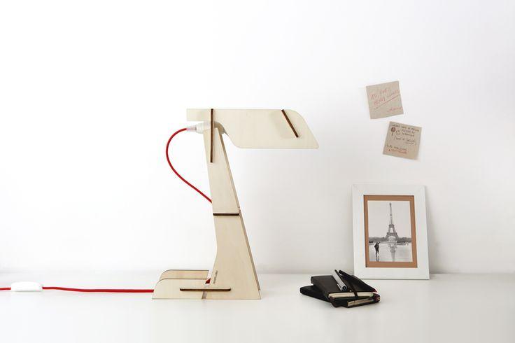 Zeta - lampada da tavolo by zpstudio su DaWanda.it #DaWanda