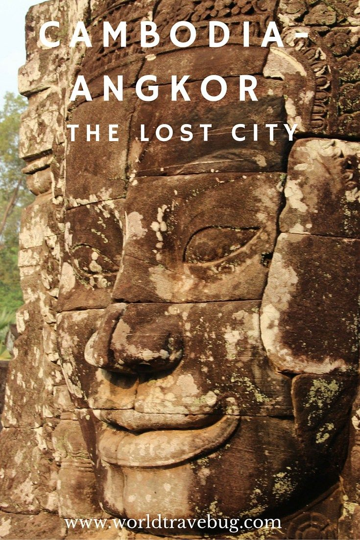 Angkor wat photo guide to the lost city