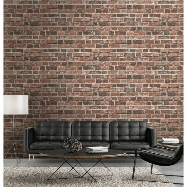 Overstock Com Online Shopping Bedding Furniture Electronics Jewelry Clothing More Peelable Wallpaper Brick Wallpaper Red Brick Wallpaper