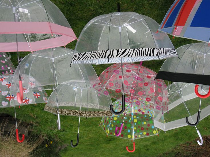 Ladies Reign Dome Brollies / Umbrellas, with hook handle and choice of design.