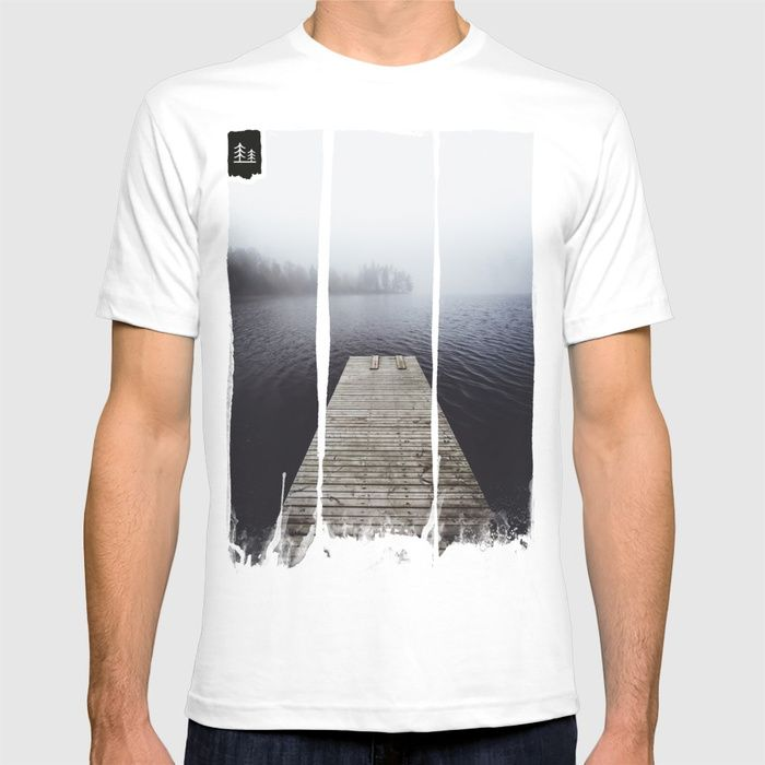 Fading into the mist T-shirt by happymelvin