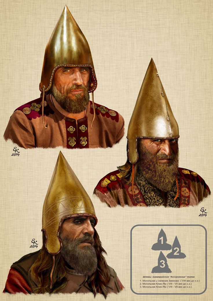 "Schlemy Cimmerian ""Assyrian types"" 1.Mogilnik in s.Zayukovo 2.Mogilnik Klin-Yar 3.Mogilnik Klin-Yar Balto-Slavica> What were the Scythians?"