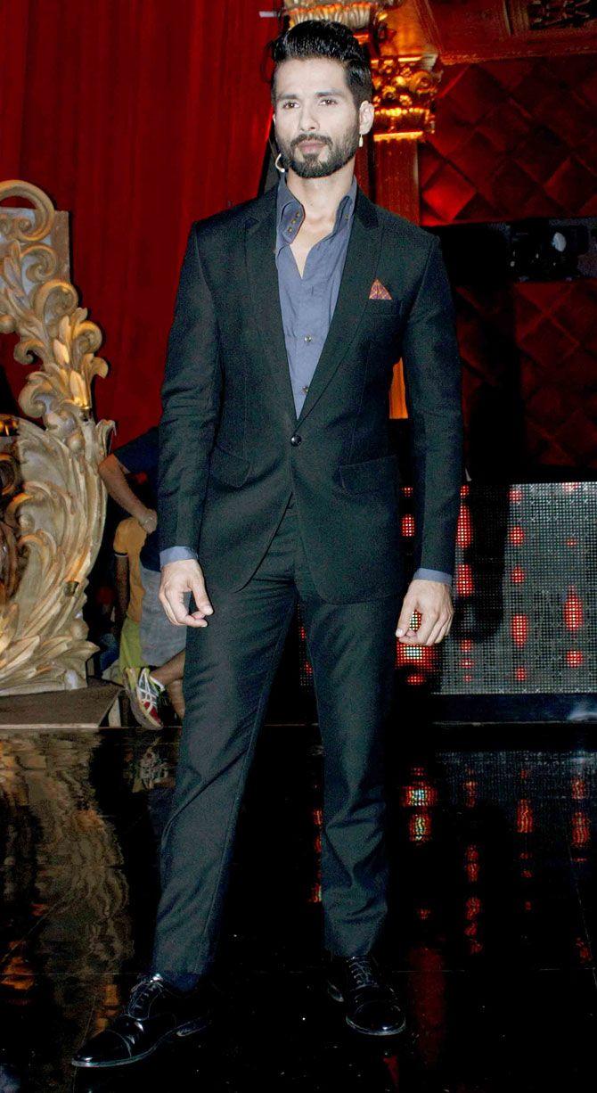 Shahid Kapoor on 'Jhalak Dikhhla Jaa Reloaded'. #Bollywood #Fashion #Style #Handsome