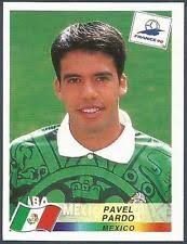 Image result for france 98 panini mexico pardo