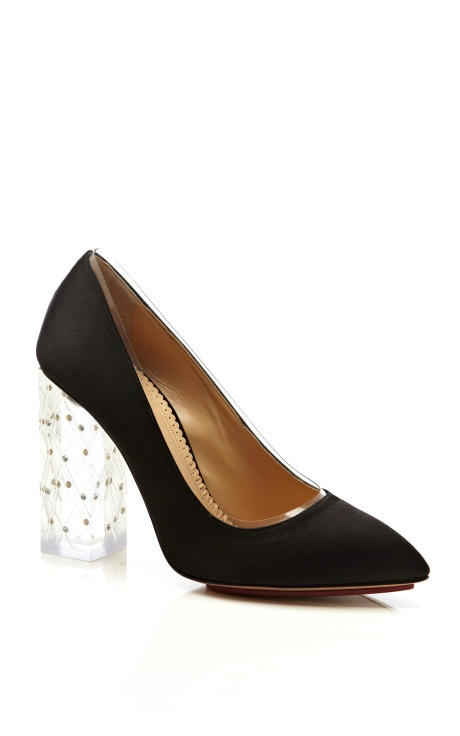 Odette Pump by Charlotte Olympia Now Available on Moda Operandi