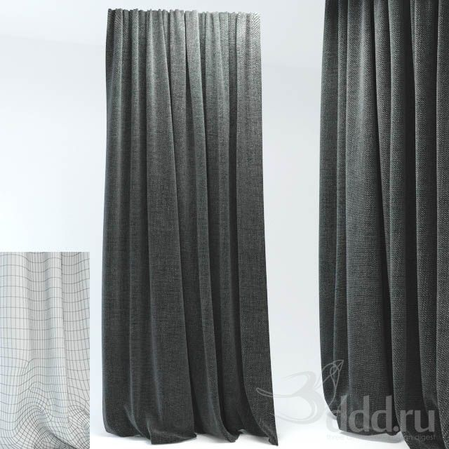 """PROFI"" штора 3dsMax 2011 + fbx (Vray) : Шторы : Файлы : 3D модели, уроки, текстуры, 3d max, Vray"