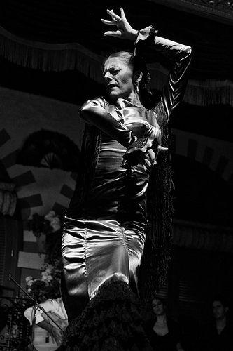 Flamenco dancer in Sevilla