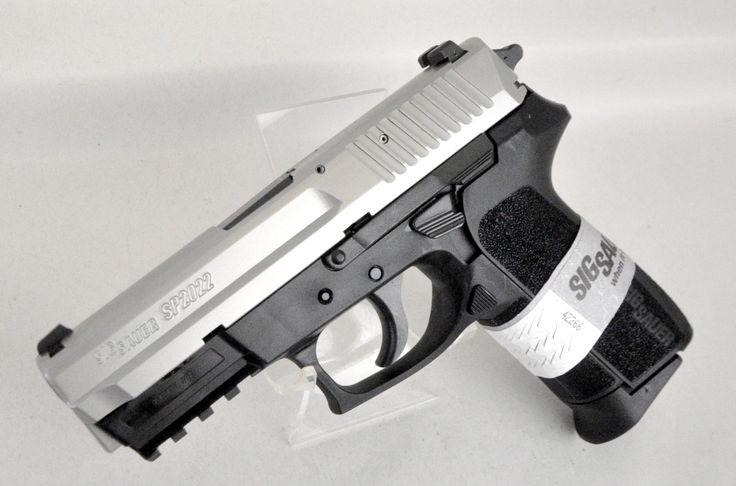 Sig Sauer SP2022 Two-Tone 9mm.E2022-9-TSS. The Sig Sauer ...