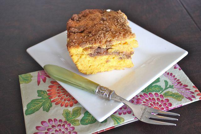 Pumpkin Sour Cream Coffee Cake | Quick Bread | Pinterest