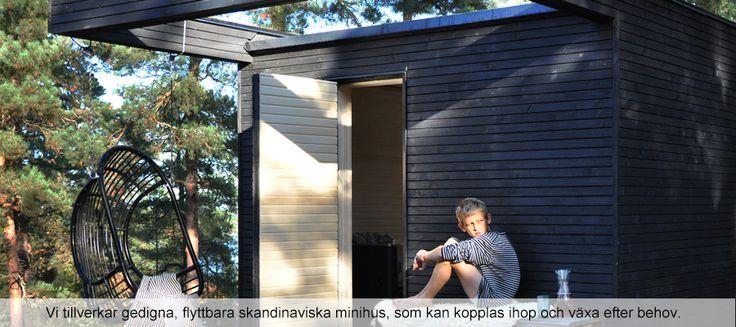 Startsida - minihus, friggebod, dansk design, add a room
