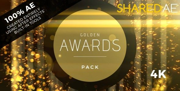 Videohive - Golden Awards Event Pack 19360174 - Free Download