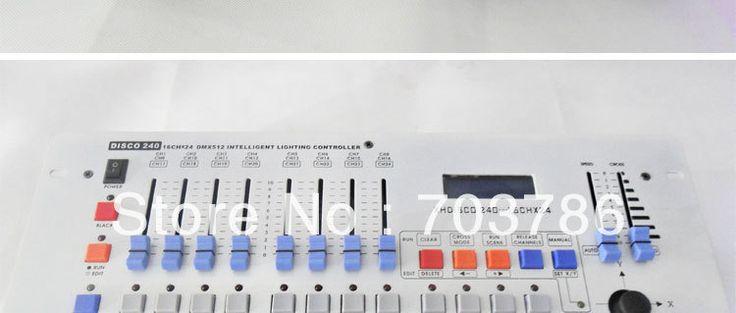 Wholesell горячей 240 dmx контроллер, DMX контроллер освещения, Дискотека 240 DMX контроллер, контроль 12 шт. 16dmx канала сценическое освещение,