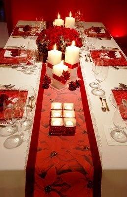 Merry Christmas preparando a mesa para o natal