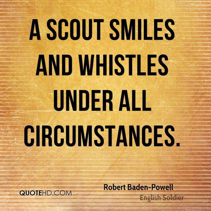 Robert Baden-Powell Quote shared from www.quotehd.com