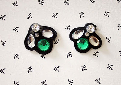 D.I.Y. MARC JACOBS EARRINGSDiy Leather, Diy Marc, Diy Jewelery, Diy Fashion, Accessories Diy, Bisutería Diy, Diy Accessories, Crafts Idease Diy, Diy High