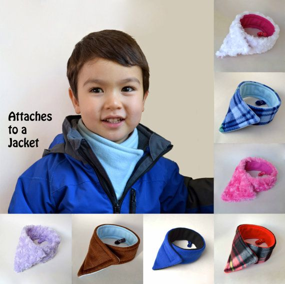 Hey, I found this really awesome Etsy listing at https://www.etsy.com/listing/205474618/modern-fleece-childs-scarf-with-a-jacket
