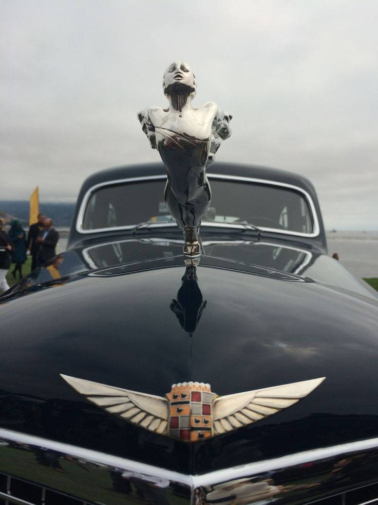 Hood Ornaments Are The Best Part Of Pebble Beach..Re-pin..Brought to you by #agentsofcarinsurance at #HouseInsurance EugeneOregon #QuoteinsuranceratesOregon