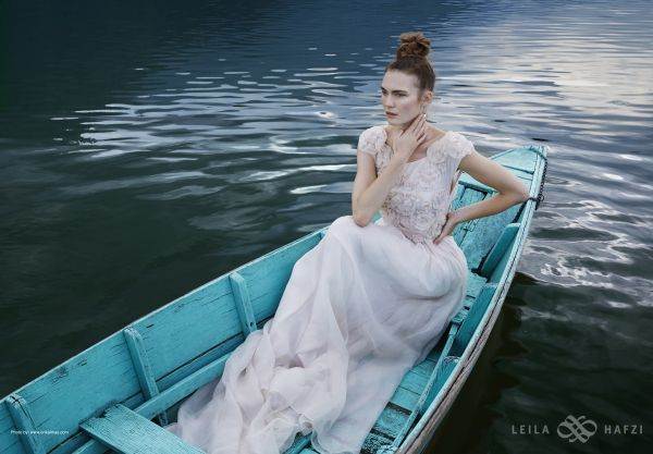 "LEILA HAFZI wedding collection - Royaye Sefid IV ""Resham Firiri"" 2014/15     Photo www.erikalmas.com  View TBS here http://vimeo.com/76056075"