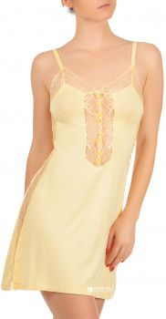 Ночная рубашка VIP Princess VPF0491001 XS Желтая (6907207720509)