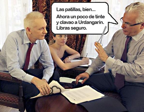 Garzón asesora a Assange.