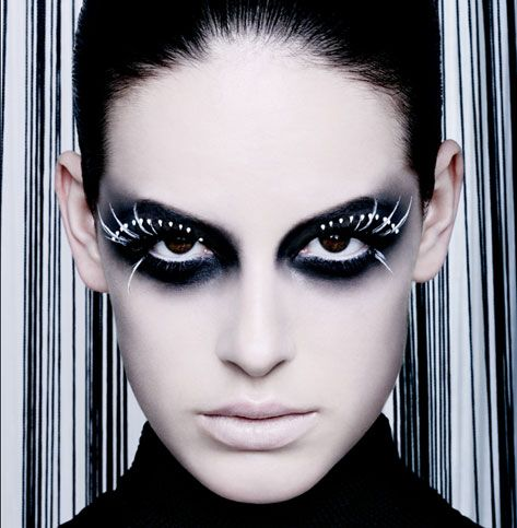 17 best images about black and white makeup on pinterest eyes makeup and black makeup