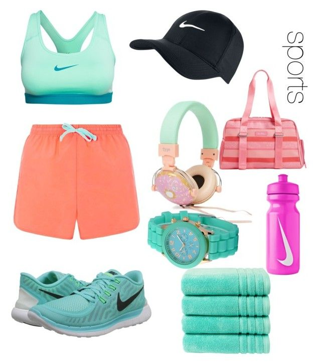 """Untitled #3"" by loko-kganyago on Polyvore featuring NIKE, Zodaca, Vera Bradley and Christy"