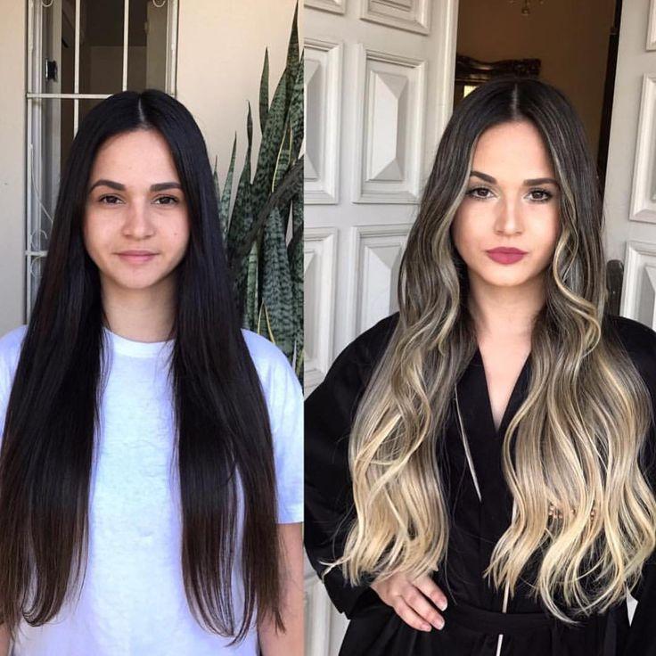 "1,049 curtidas, 12 comentários - ✨BALAYAGE & BEAUTIFUL HAIR  (@bestofbalayage) no Instagram: ""ANOTHER  TRANSFORMATION  By @glayda #bestofbalayage #showmethebalayage ✨ . . #makeover…"""