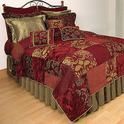 The Renaissance Patchwork Quilt Evokes A Regal Bedroom Of