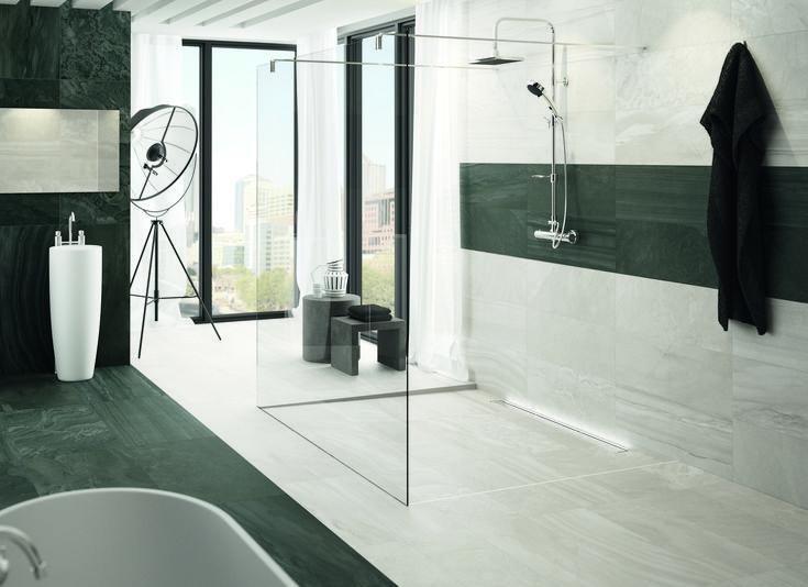 ACO Entwässerungsrinnen in ihrem Bad Modernes ...