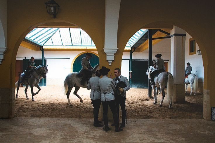 Backstage på Den Kongelige Andalusiske Rideskole i Jerez