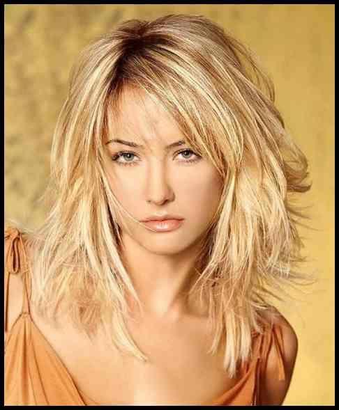 Frecher Stufenschnitt Mittellang Frisuren Pinterest Hair Meine Frisuren Frisuren Halblang Gestuft Langhaarfrisuren Frisuren Schulterlang
