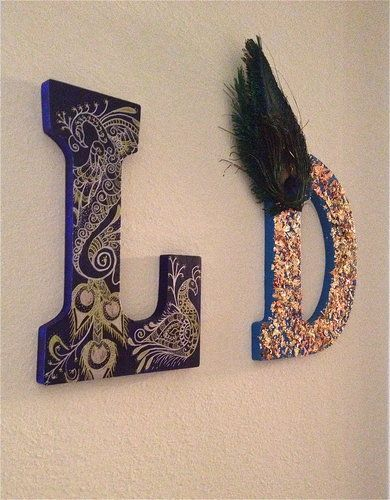 1000 Images About Diy Wall Letters On Pinterest