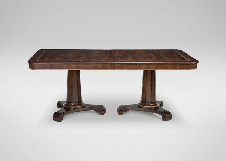 Sanders Dining Table | Carrington / Gold Metallic Leaf (599)