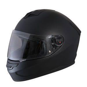 Mũ bảo hiểm fullface Royal M07 đen nhám