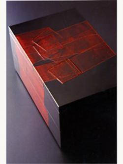Wajima urushi lacquer box by SETO Kunikatsu, Japan 瀬戸國勝