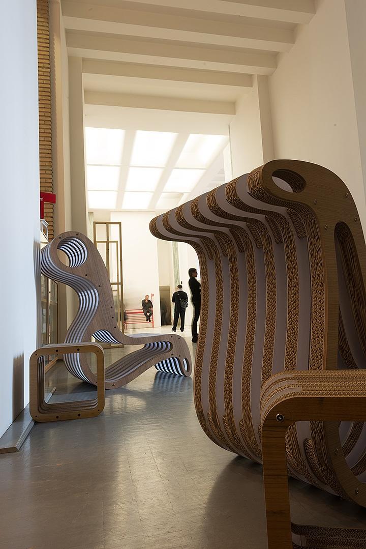 """X2Chair"" Triennale Design Week 2013 Milano - LESSMORE® visit www.lessmore.it"