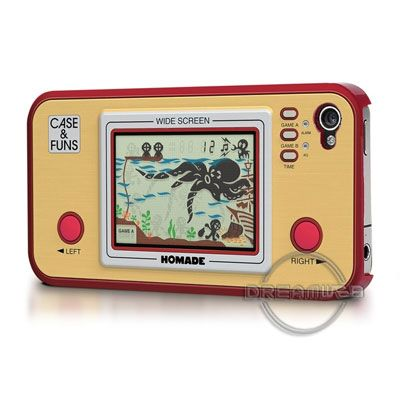 Coque de Protection Rigide FlashBacks Motif Jeu Electronique LCD