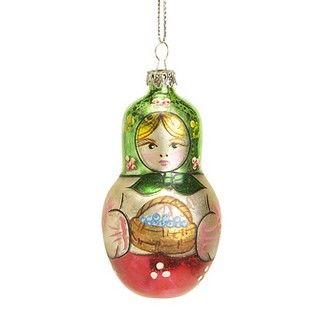 $8.00 Russian Matryoshka Doll Ornament