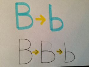 fun ways to work on letter reversals